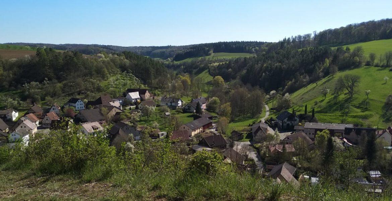 Unterginsbach von oben TODO